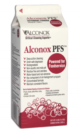Alconox PFSⓇ Powered for Foodservice
